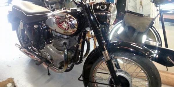 500cc BSA 1960