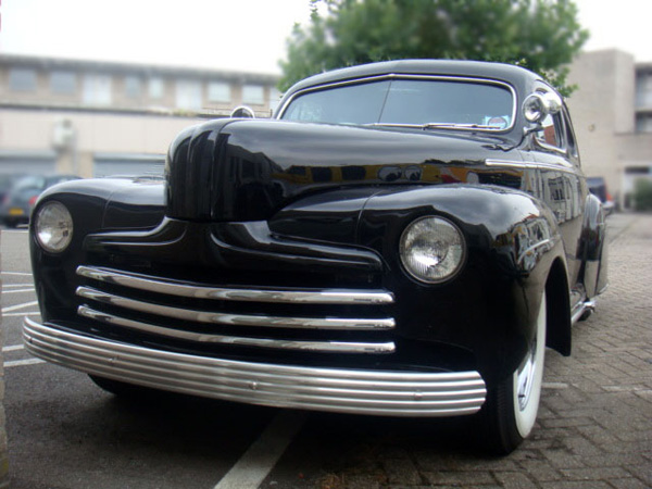 1946 custom ford chopped